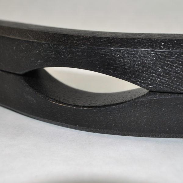 Black humbler ball slot detail